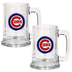 Chicago Cubs 2 pc Tankard Set