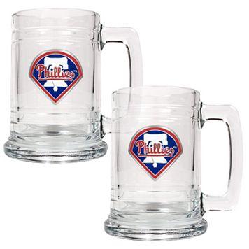 Philadelphia Phillies 2-pc. Tankard Set