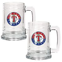 Texas Rangers 2 pc Tankard Set