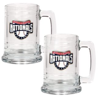 Washington Nationals 2-pc. Glass Mug Set