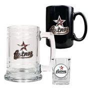 Houston Astros 3-pc. Mug and Shot Glass Set