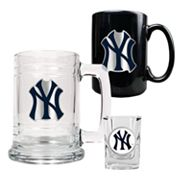 New York Yankees 3-pc. Drinkware Set