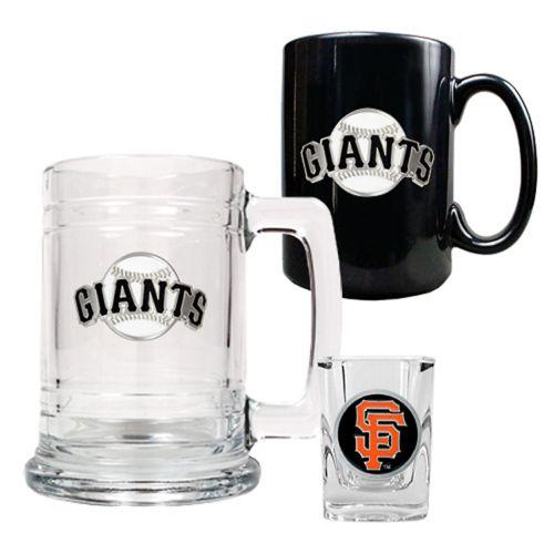 San Francisco Giants 3-pc. Mug and Shot Glass Set