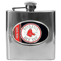 Boston Red Sox Stainless Steel Hip Flask