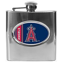 Los Angeles Angels of Anaheim Stainless Steel Hip Flask