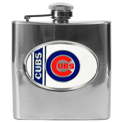 Chicago Cubs Stainless Steel Hip Flask