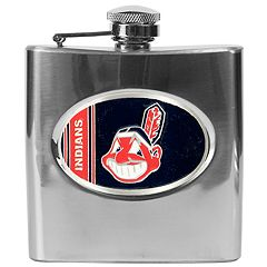 Cleveland Indians Stainless Steel Hip Flask