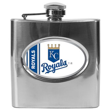 Kansas City Royals Stainless Steel Hip Flask