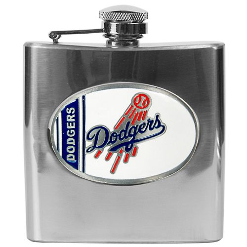 Los Angeles Dodgers Stainless Steel Hip Flask