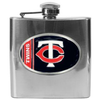 Minnesota Twins Stainless Steel Hip Flask