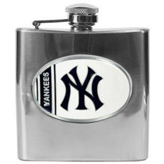 New York Yankees Stainless Steel Hip Flask