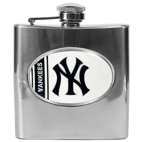 New York Yankees Stainless Steel Hip Flask