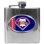 Philadelphia Phillies Stainless Steel Hip Flask