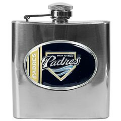 San Diego Padres Stainless Steel Hip Flask