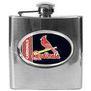 St. Louis Cardinals Stainless Steel Hip Flask