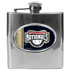 Washington Nationals Stainless Steel Hip Flask