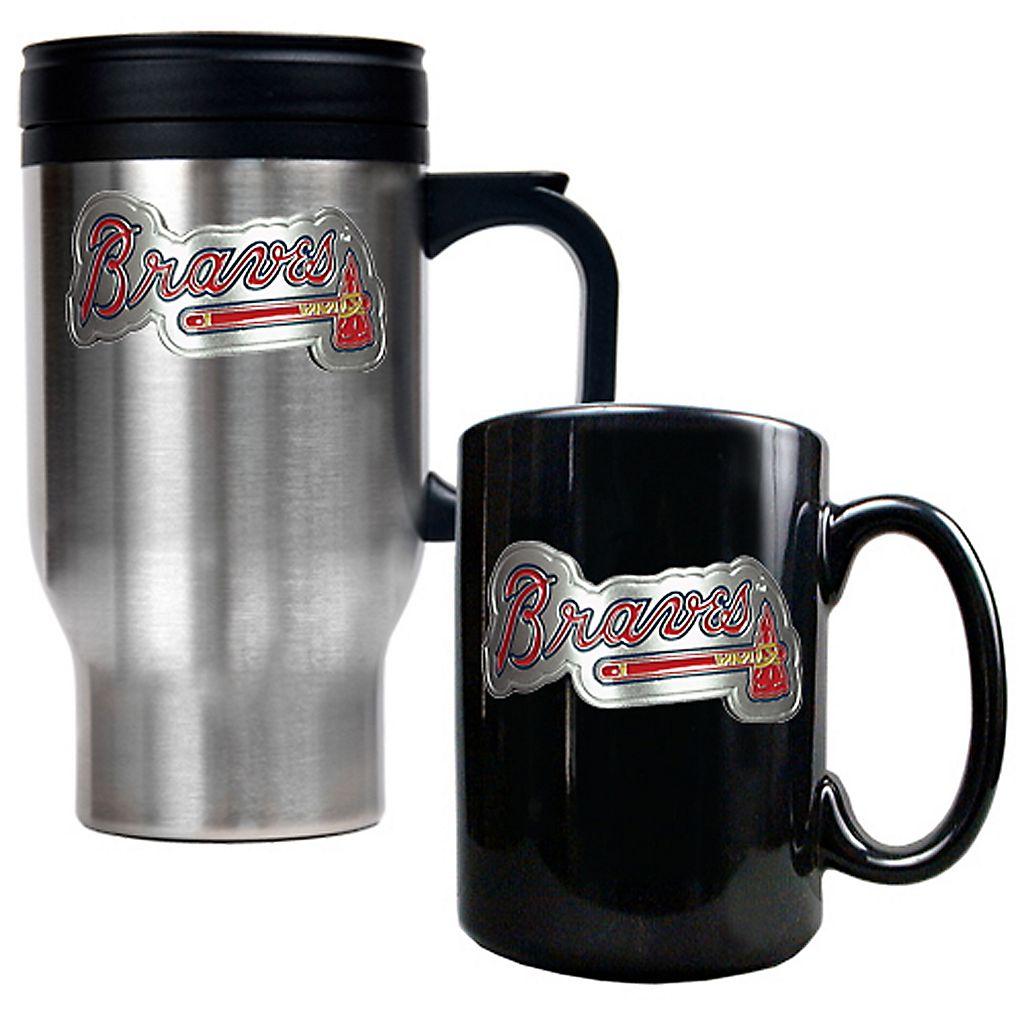 Atlanta Braves 2-pc. Travel Mug Set