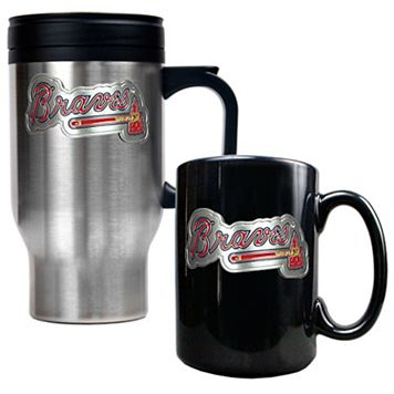 Atlanta Braves 2-pc. Travel Mug Set