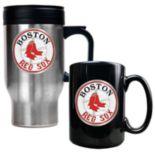 Boston Red Sox 2-pc. Travel Mug Set