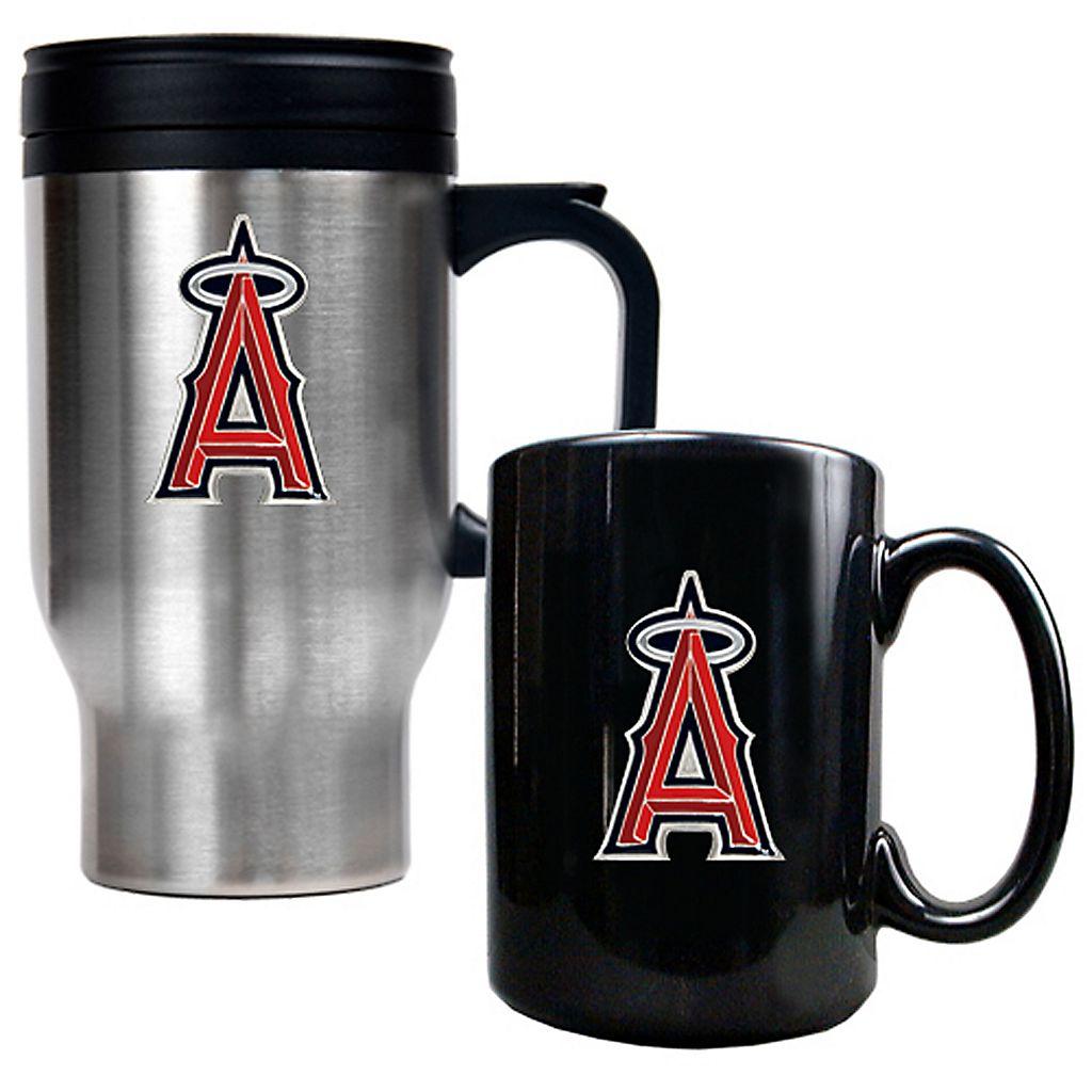 Los Angeles Angels of Anaheim 2-pc. Mug Set