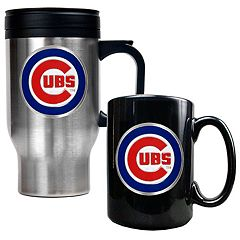 Chicago Cubs 2 pc Travel Mug Set