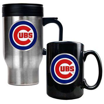Chicago Cubs 2-pc. Travel Mug Set