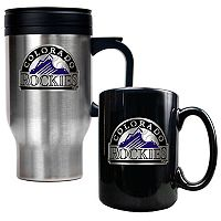 Colorado Rockies 2 pc Mug Set