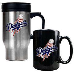 Los Angeles Dodgers 2-pc. Travel Mug Set