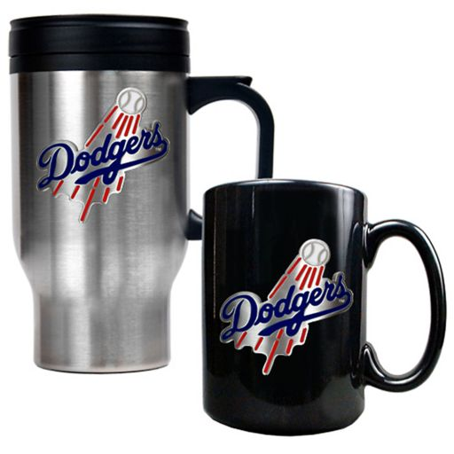 Los Angeles Dodgers 2-pc. Travel Mug Set