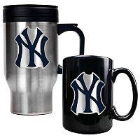 New York Yankees 2-pc. Travel Mug Set