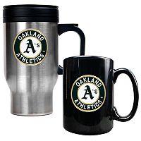 Oakland Athletics 2 pc Mug Set