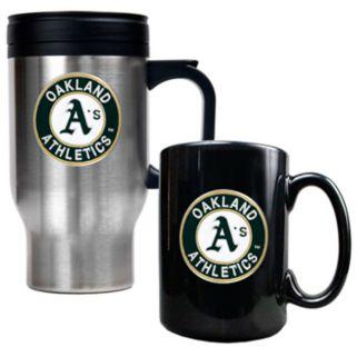 Oakland Athletics 2-pc. Mug Set