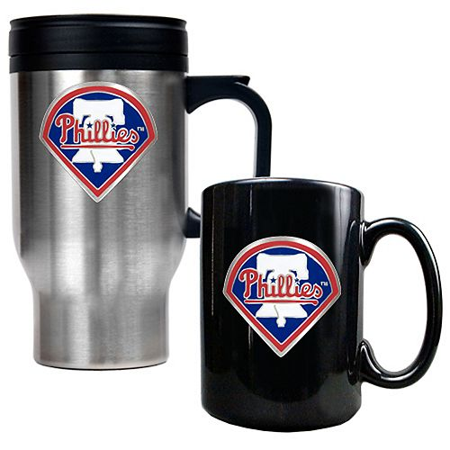 Philadelphia Phillies 2-pc. Travel Mug Set