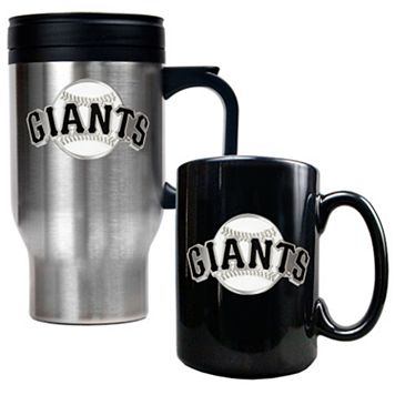 San Francisco Giants 2-pc. Travel Mug Set