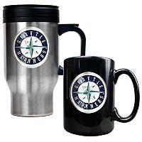 Seattle Mariners 2 pc Mug Set