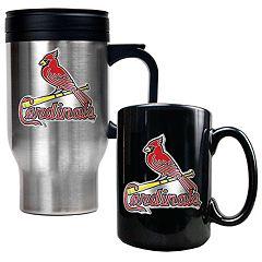 St. Louis Cardinals 2 pc Travel Mug Set