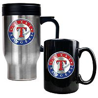 Texas Rangers 2-pc. Travel Mug Set