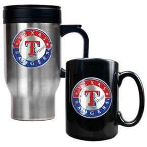 Texas Rangers 2-pc. Travel Mug Set