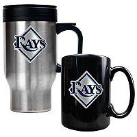 Tampa Bay Rays 2 pc Mug Set