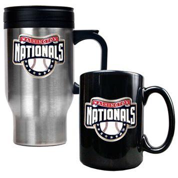 Washington Nationals 2-pc. Mug Set