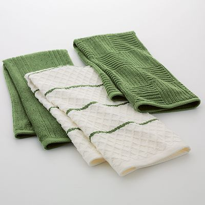 Food Network 3-pk. Ribbed Kitchen Towels