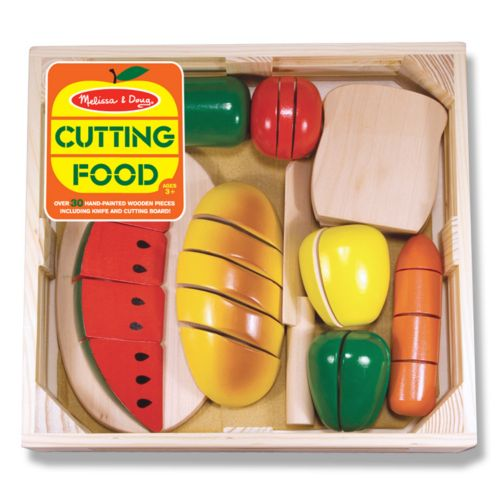 Melissa and Doug Cutting Food Set