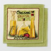 Croft and Barrow 2-pk. Olive Oil Dishcloths