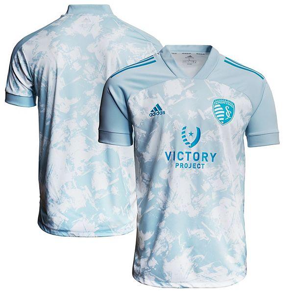 Youth adidas Light Blue Sporting Kansas City 2021 Primeblue ...