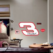 Fathead Dale Earnhardt Sr. Logo Wall Decal