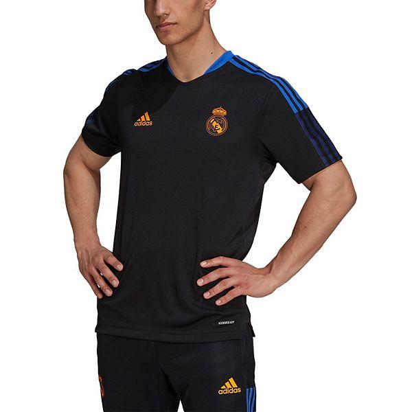 Men's adidas Black Real Madrid 2021/22 Training AEROREADY ...