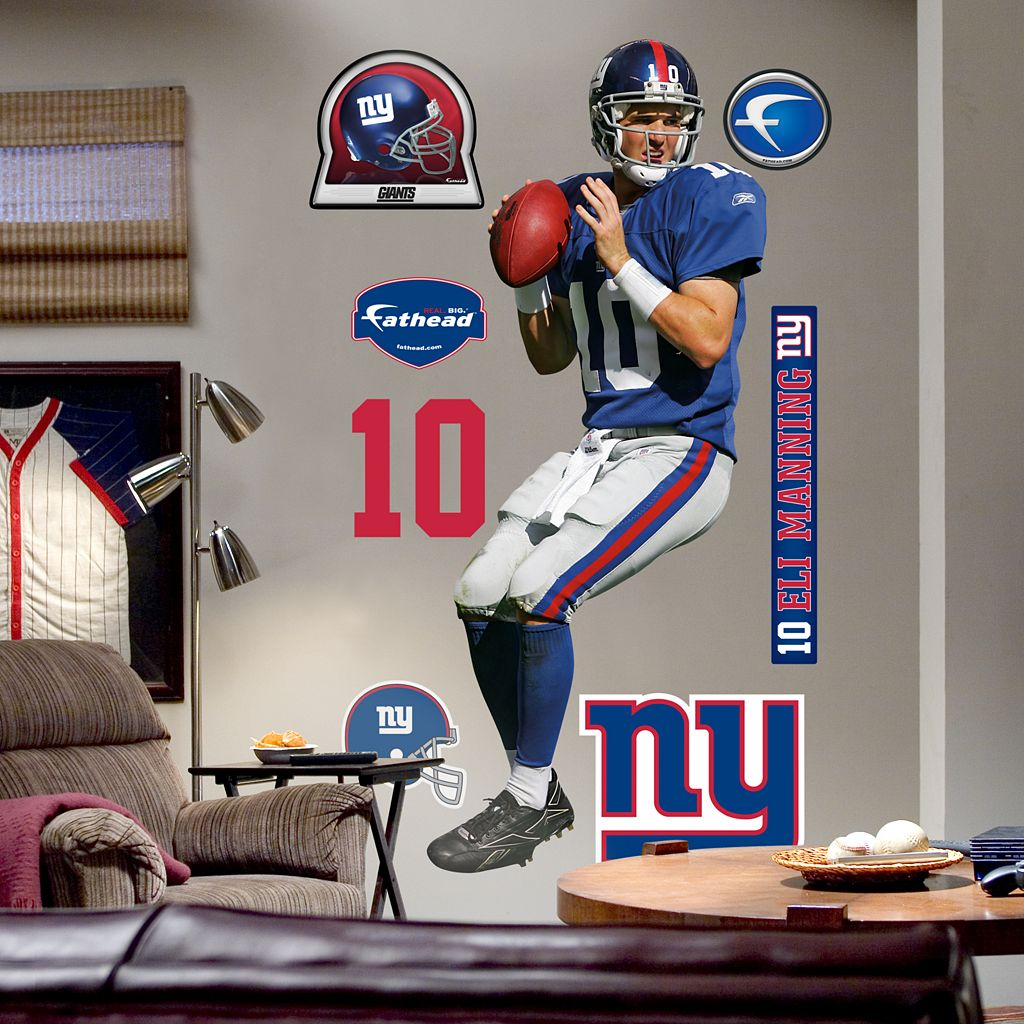 Fathead® New York Giants Eli Manning Wall Decal