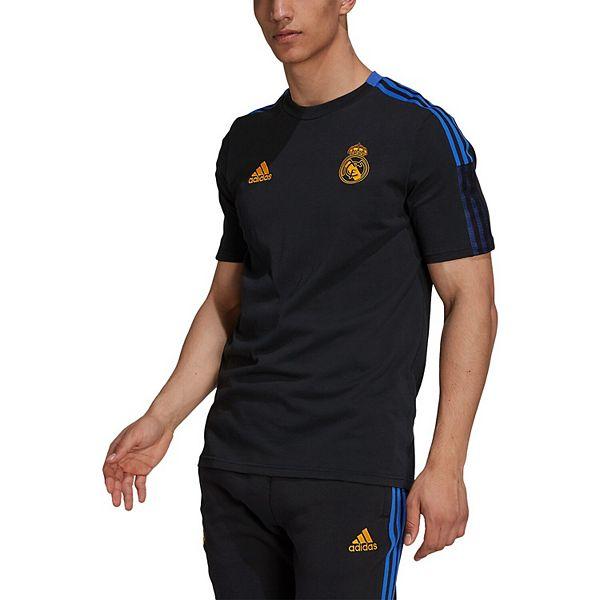 Men's adidas Black Real Madrid Team Training T-Shirt