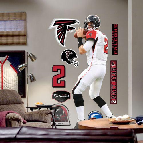 Fathead Atlanta Falcons Matt Ryan Wall Decal