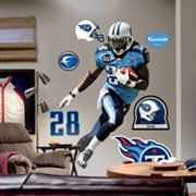 Fathead Tennessee Titans Chris Johnson Wall Decal